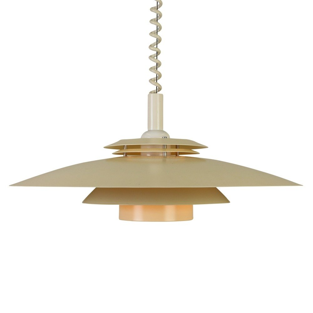Multilayer Scandinavian Pendant Ceiling Light With Pull