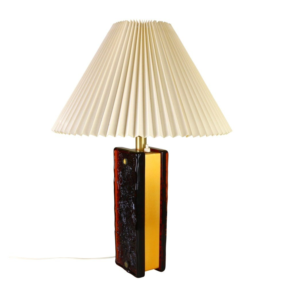 Quality dual light table lamp by Nafa Sweden, 1960s