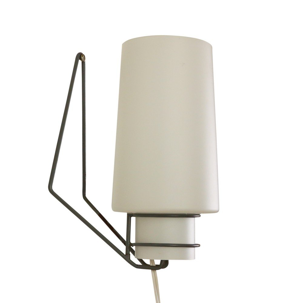 Philips Grace Wall Lights : Minimalistic wall light by Philips Holland, 1950s #1082