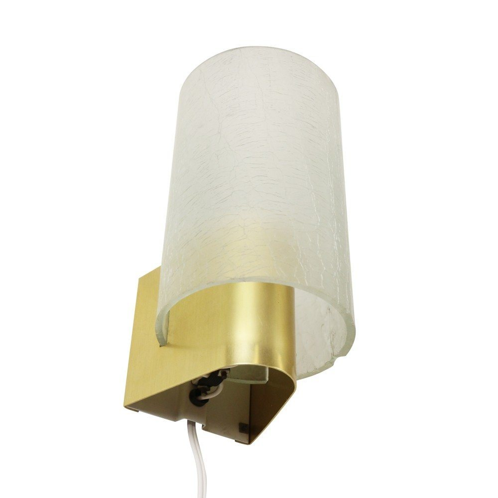Modern NX177 wall light with frosted glass by Philips Holland, 1960s