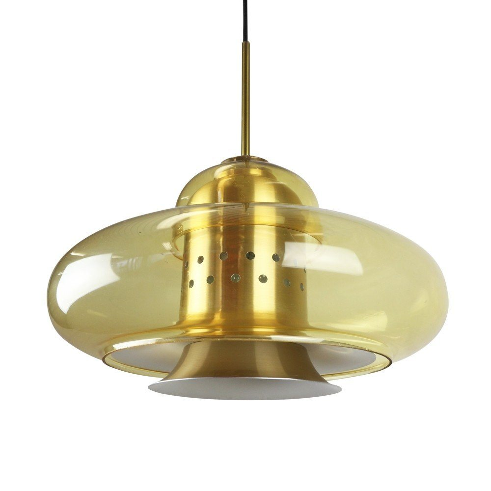 Space Age Pendant Light By Dijkstra Lampen 1970s 1219