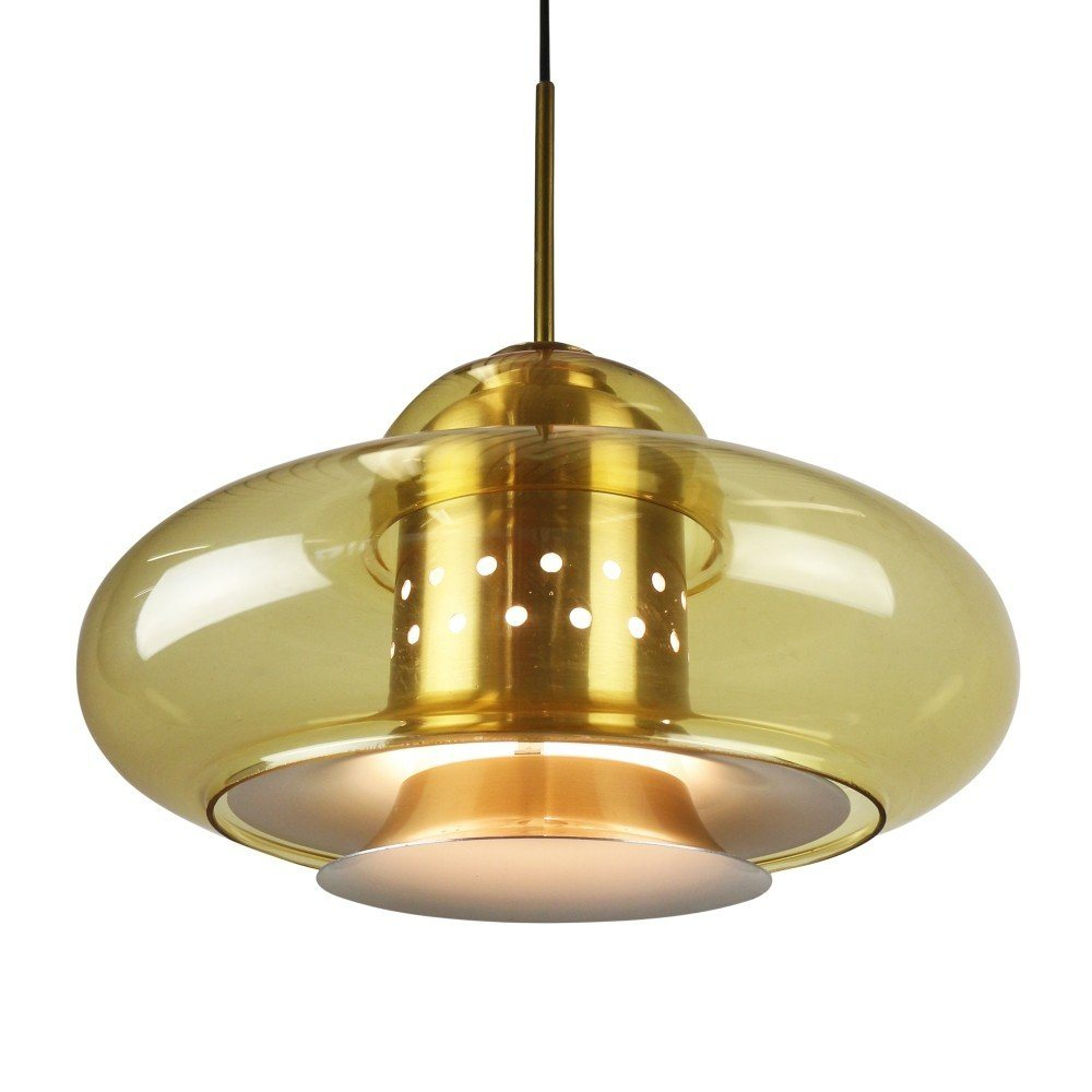 Space age pendant light by dijkstra lampen 1970s 1219 for Dijkstra lampen