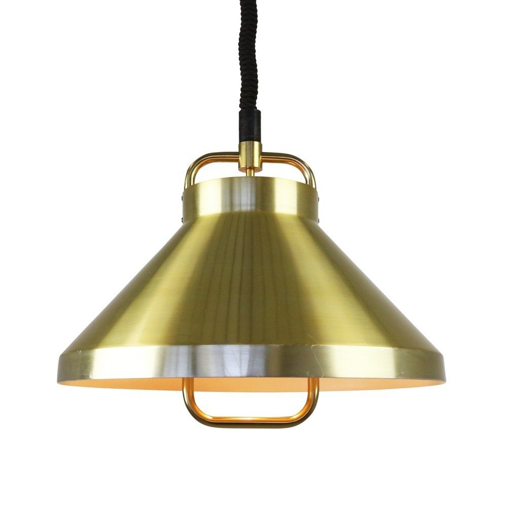Tarok pull down pendant by Jo Hammerborg for Fog and Mørup, 1977
