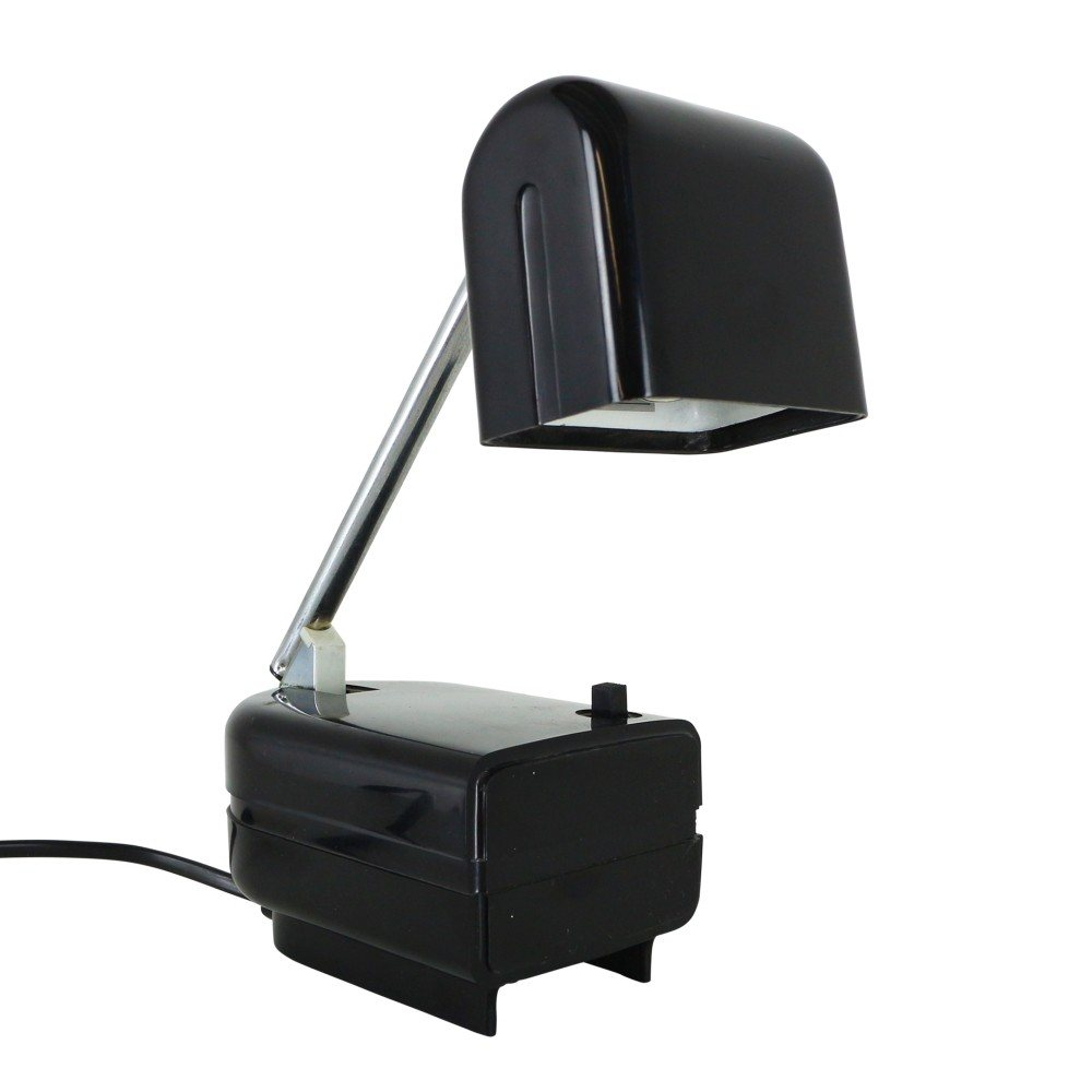 Foldable telescopic desk or wall light, 1970s