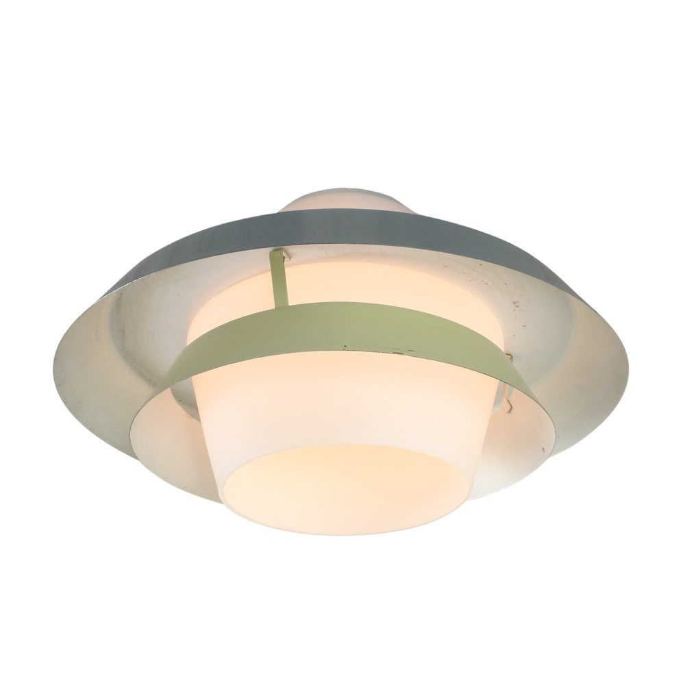 Rare NT30 E/00 ceiling light by Louis Kalff for Philips, 1950s