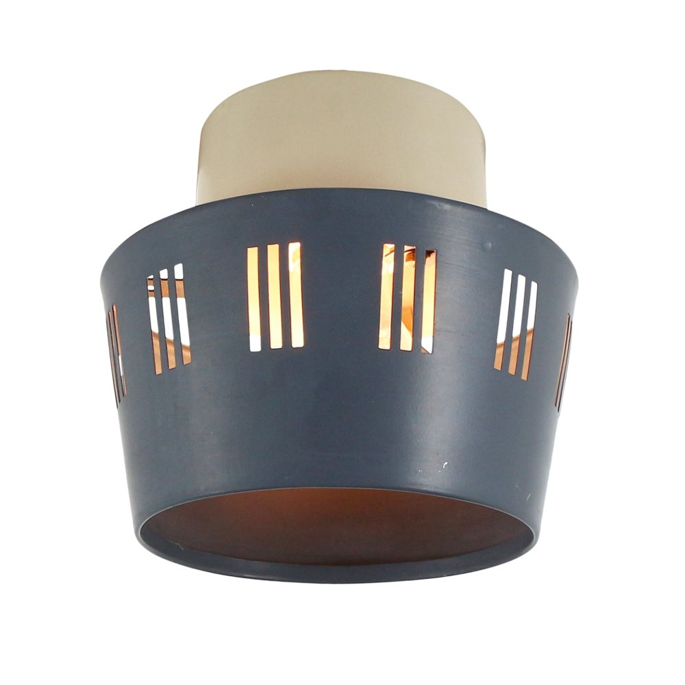 Rare NT 52 E/00 ceiling light by Philips, 1950s