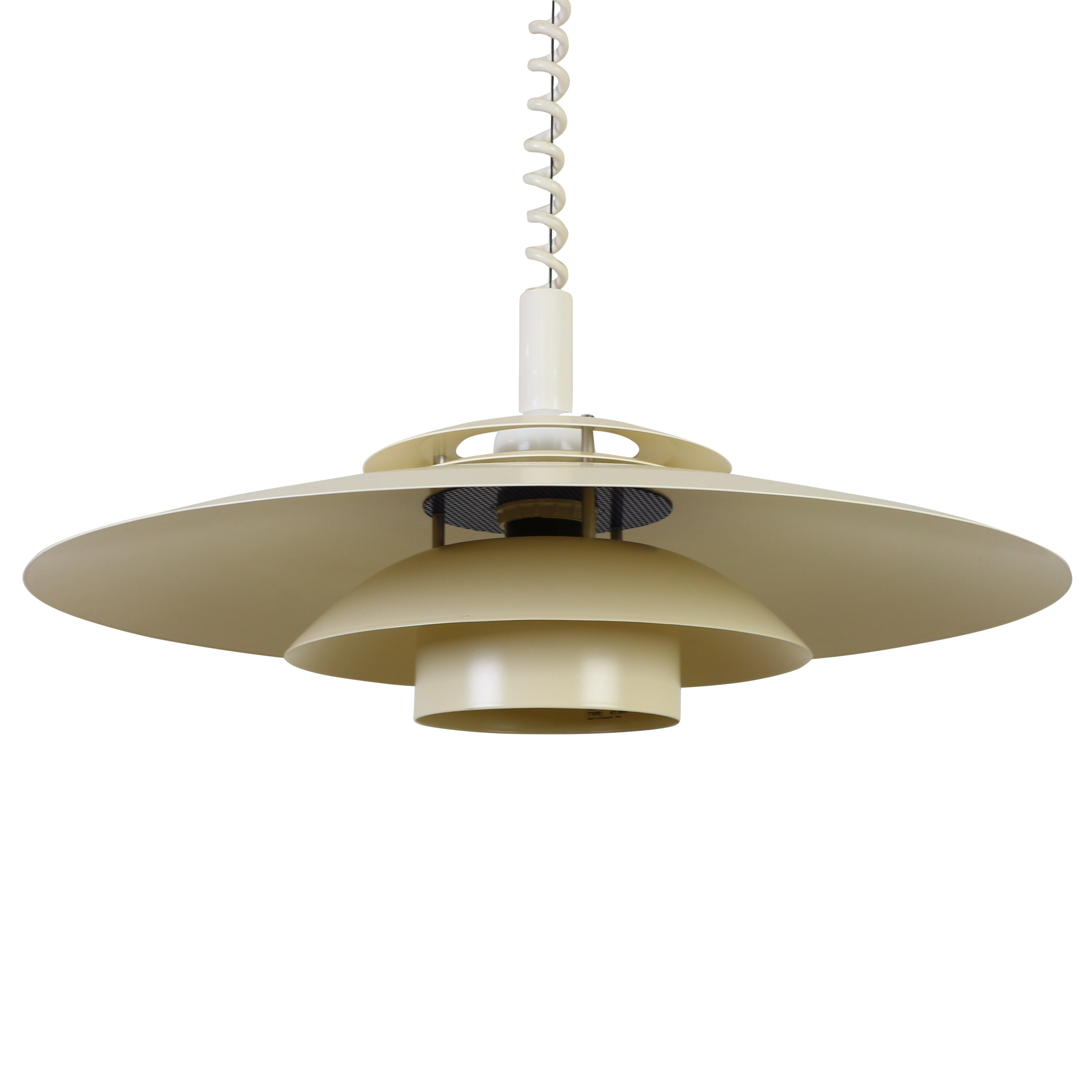 multilayer scandinavian pendant ceiling light with pull down