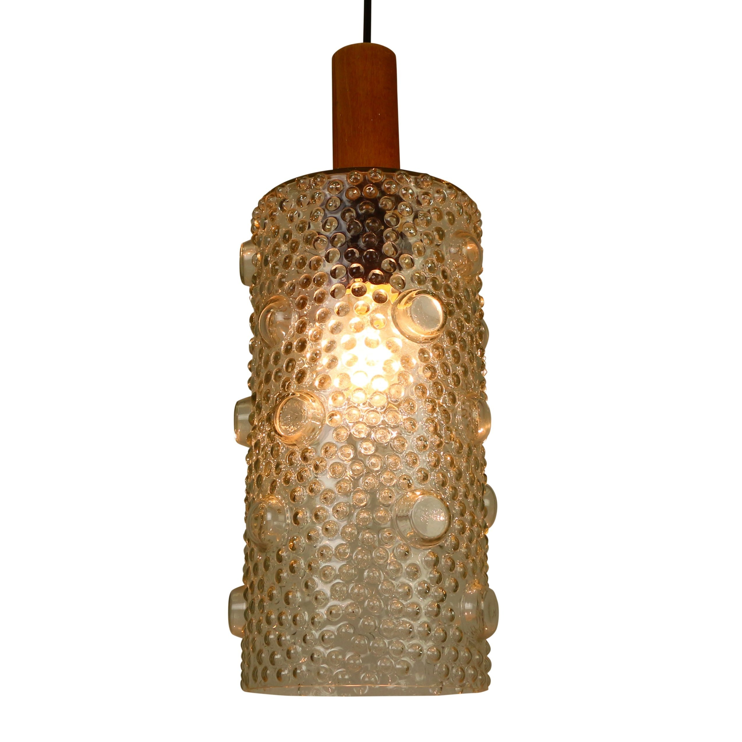 pendant cut glass lustry by enov bd kamenick