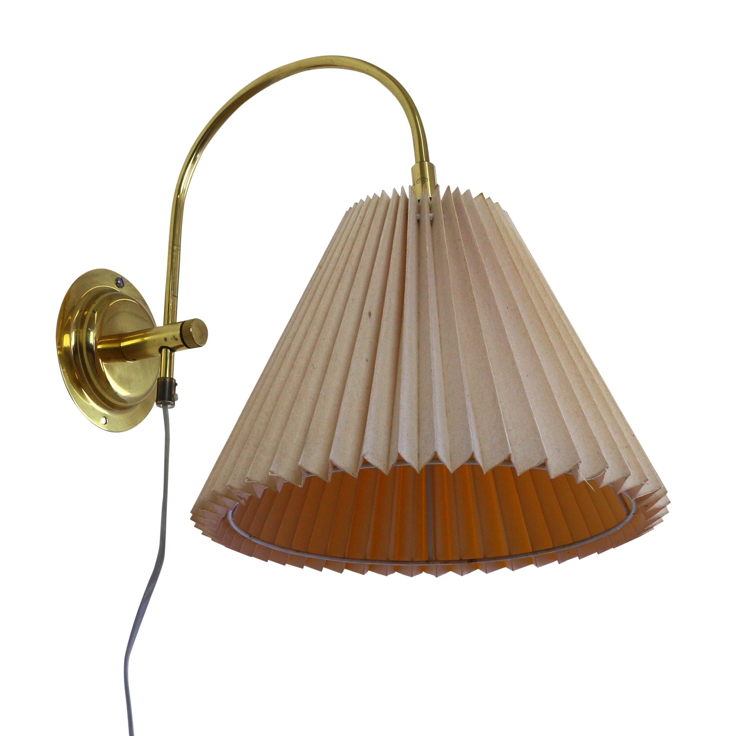 Danish wall light from the seventies by Dar? Belysning #1109