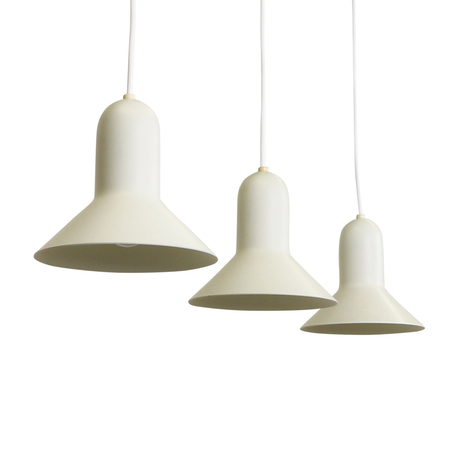 Set Of 3 Confetti Pendant Lights By Claus Bonderup For