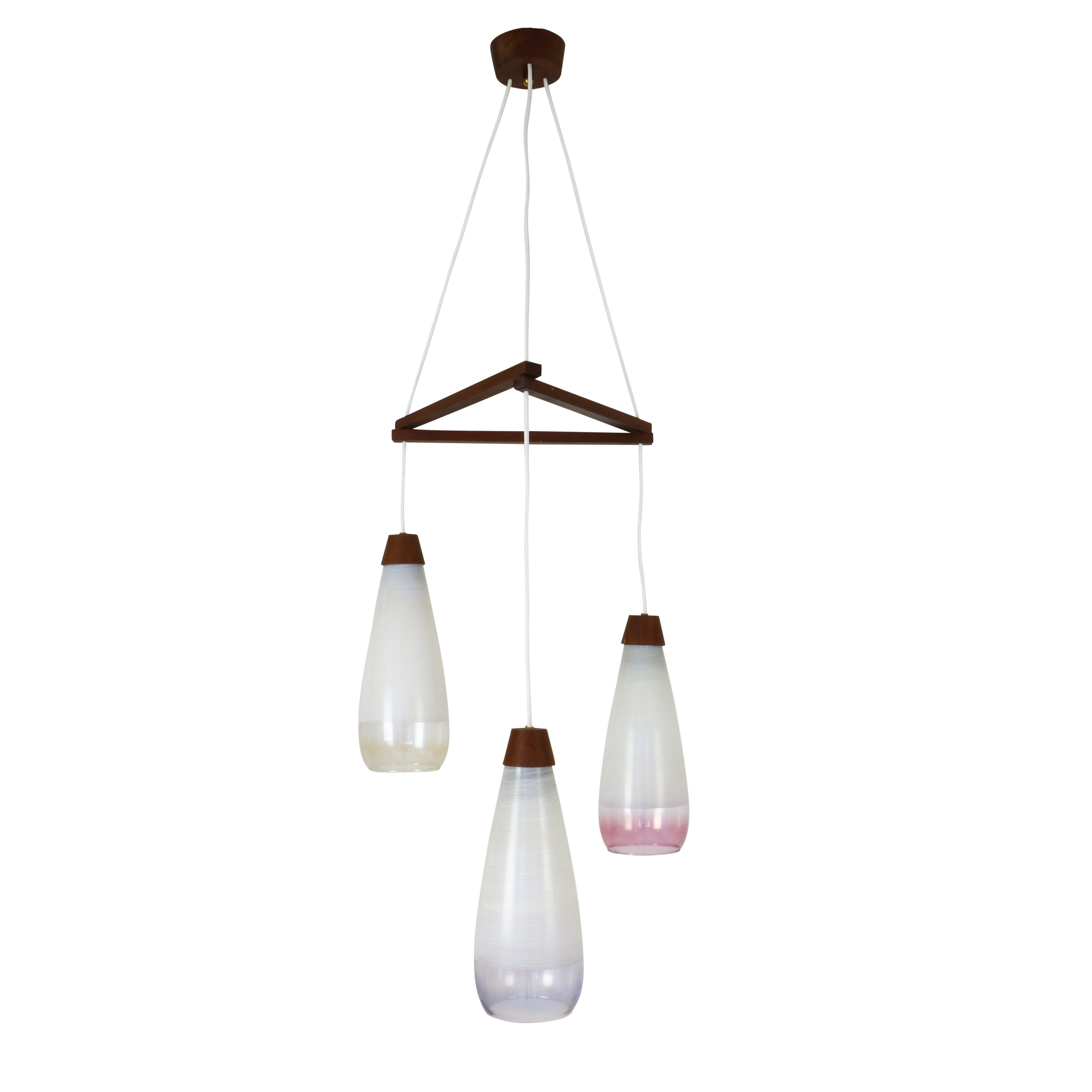 lampefeber pendant in solid lights cone light products wood