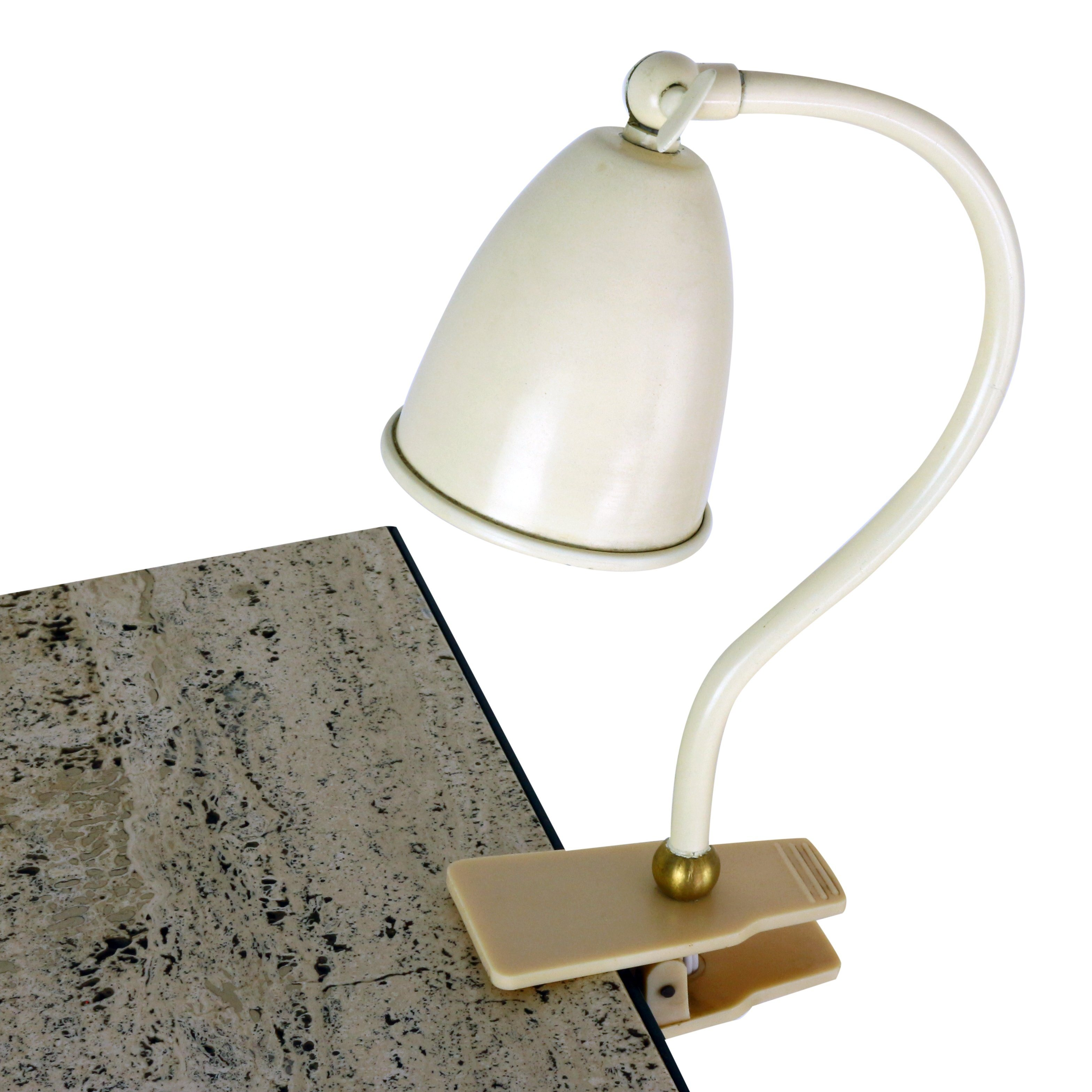 Small metal clamp desk light 1950s 1187 small metal clamp desk light 1950s publicscrutiny Image collections
