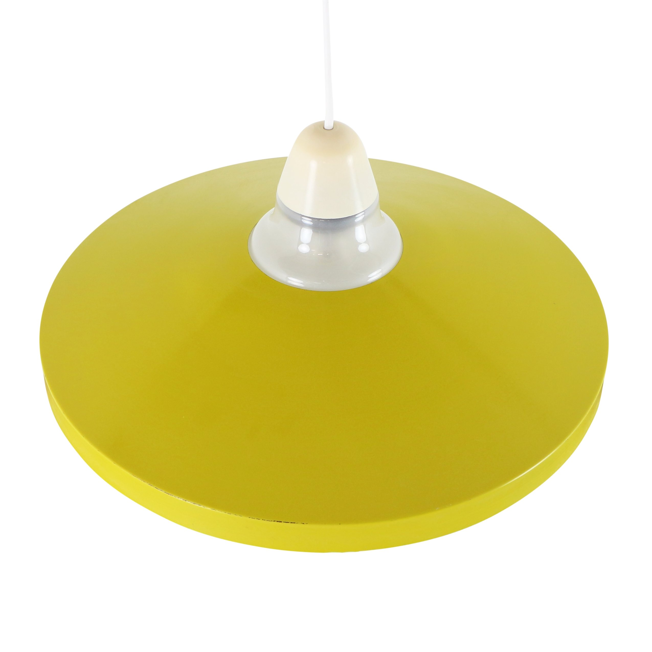 S Patterned Glass Shade Ceiling Light