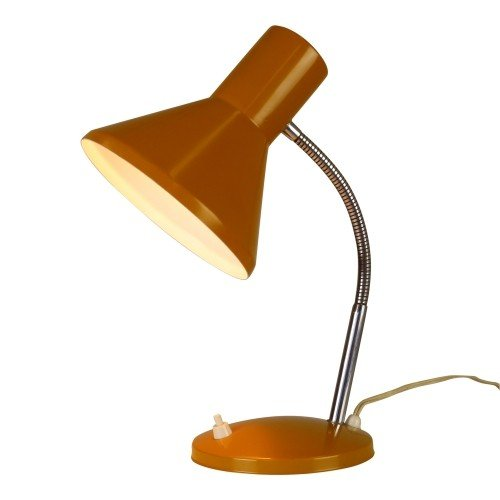 Yellow / Orange desk light, 1970s