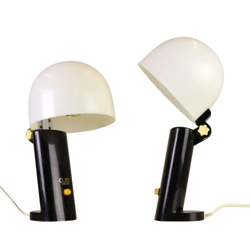 Set of two plastic Cute Table Lights, 1970s