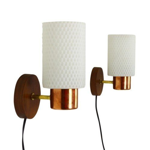 Set of two wall sconces from the sixties by Philips Holland