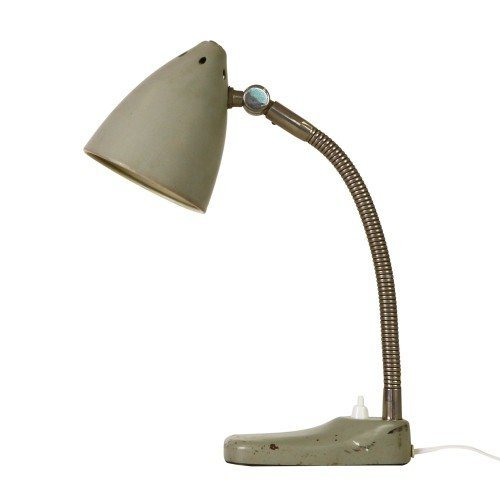 Early Hala Zeist desk light by H. Busquet, 1950s