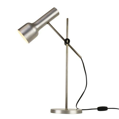 Minimal design aluminium desk light, 1960s