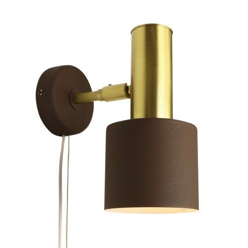 Scandinavian wall light in the style of Jo Hammerborg / Fog and Mørup, 1960s