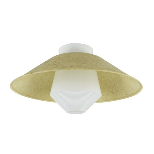 Rare Art Deco style ceiling light by Louis Kalff for Philips, 1950s