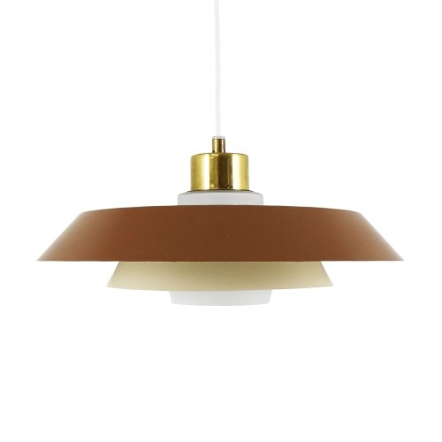 Omega pendant light by Bent Karlby for Lyfa