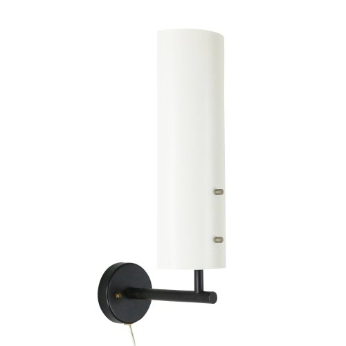 Black and white Anvia wall light by J. Hoogervorst, 1960s